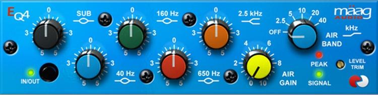 Maag Audio EQ4 Plug-in image 1