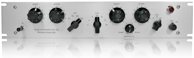 Pultec EQP-1A3-SS EQ with API Gain Stage image 1