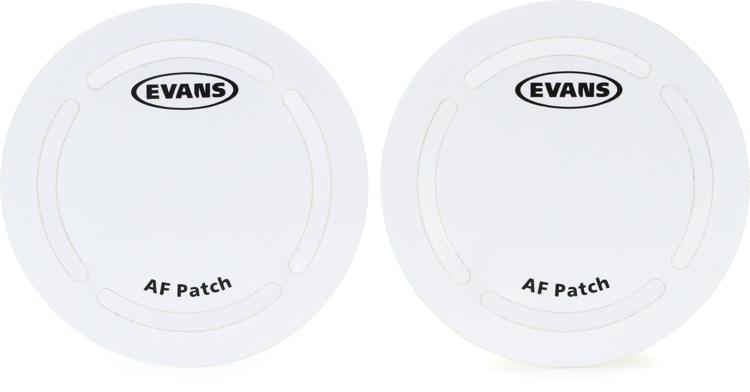 Evans Aramid Fiber Bass Drum Patch 2-pack image 1