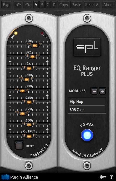 SPL EQ Ranger Plus Plug-in Suite image 1
