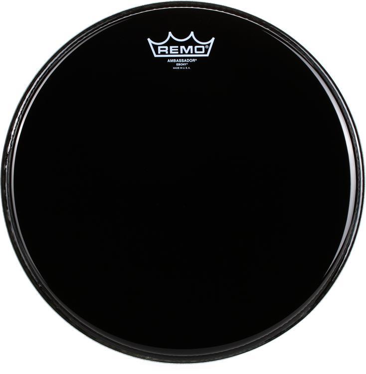 Remo Ebony Ambassador Drum Head - 13