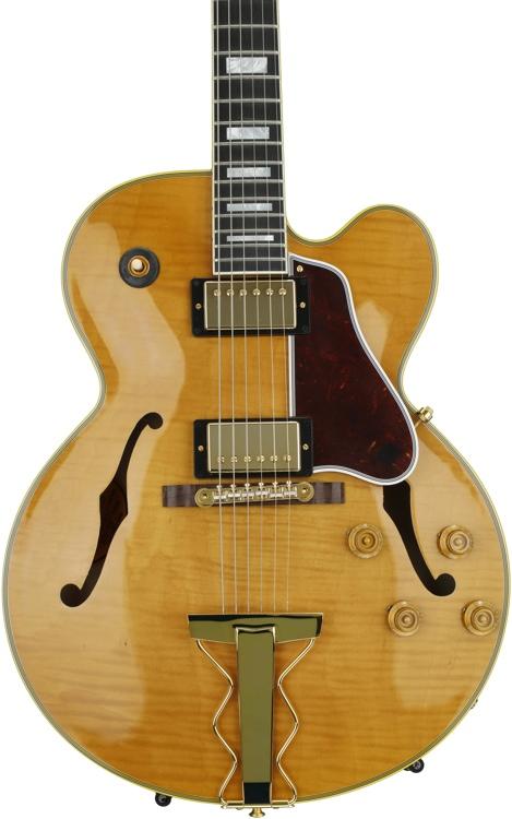 Gibson Memphis ES-275 Figured - Dark Vintage Natural image 1