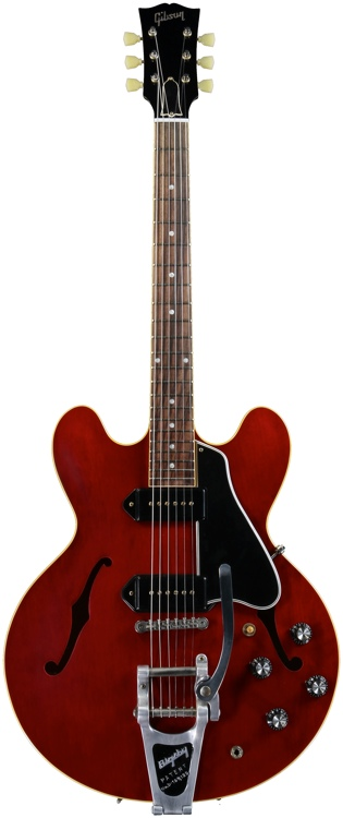 Gibson Custom ES-330 - Vintage Cherry with Bigsby image 1