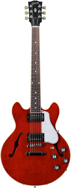 Gibson Memphis ES-339 - \'59 Neck Profile - Antique Red image 1