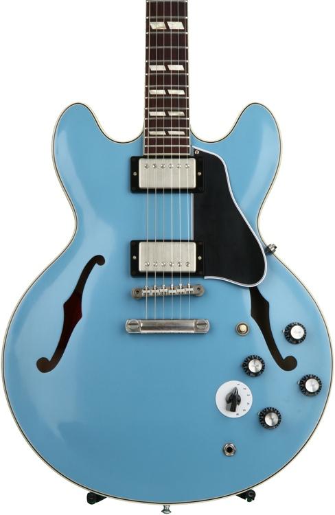 Gibson Memphis 1964 ES-345 VOS - Frost Blue image 1