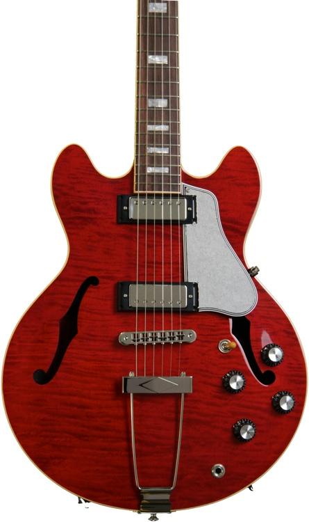 Gibson Memphis ES-390 Figured - Vintage Cherry  image 1