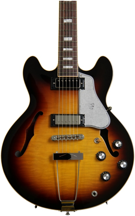 Gibson Memphis ES-390 Figured - Vintage Sunburst  image 1