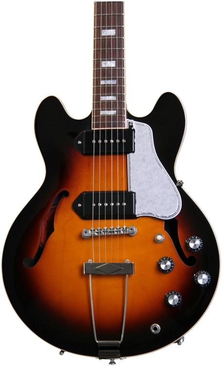 Gibson Memphis ES-390 - with P90s - Vintage Sunburst image 1