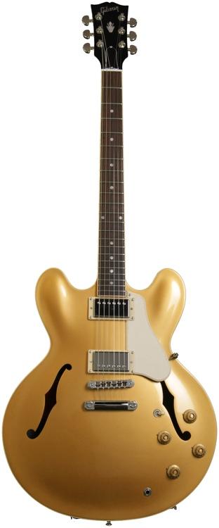 Gibson Memphis ES-335 Dot Plaintop - Solid Gold image 1