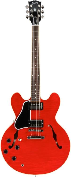 Gibson Memphis ES-335 - Figured Dot - Cherry Left handed image 1