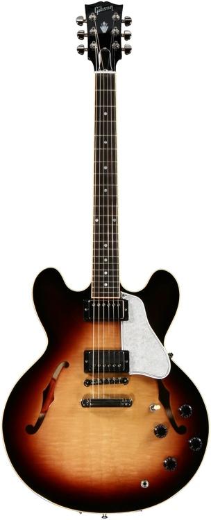 Gibson Memphis ES-335 Dot - Tri-Burst image 1