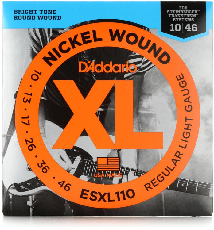 D\'Addario ESXL110 Nickel Wound Double Ball End Light Electric Strings image 1
