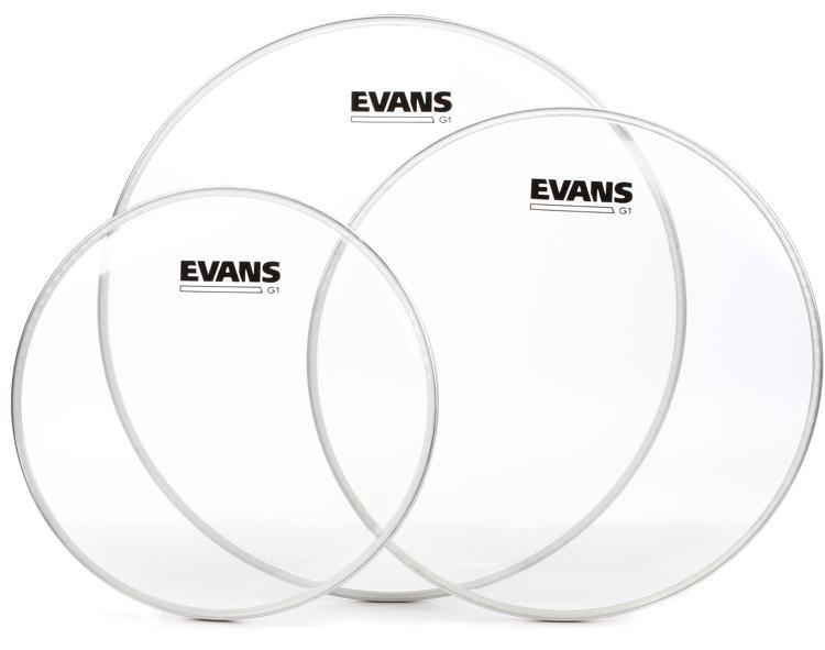 Evans G1 Tom Pack - 10, 12, 14 - Clear image 1