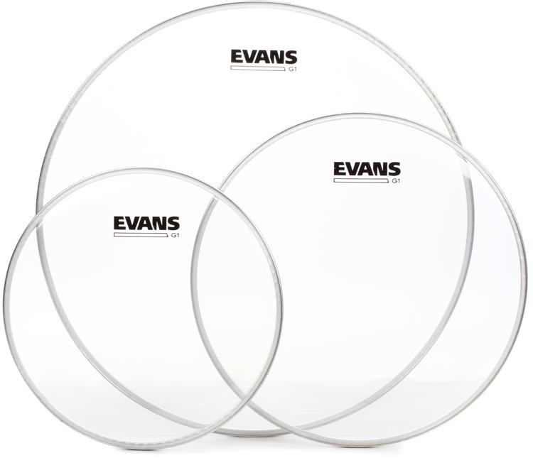 Evans G1 Tom Pack - 10, 12, 16 - Clear image 1
