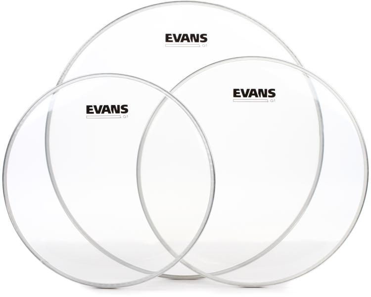 Evans G1 Tom Pack - 12, 13, 16 - Clear image 1