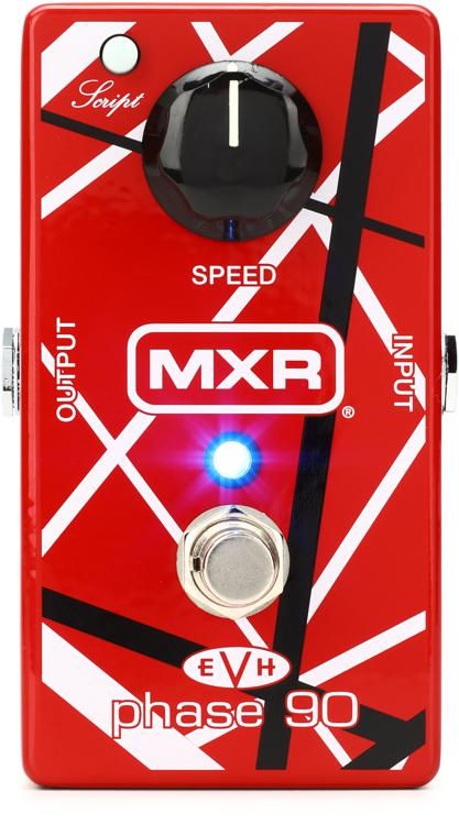 mxr evh phase 90 eddie van halen phase pedal sweetwater. Black Bedroom Furniture Sets. Home Design Ideas