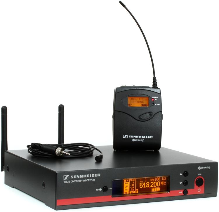 Sennheiser EW 112 G3 Wireless Lavalier System - G Band image 1