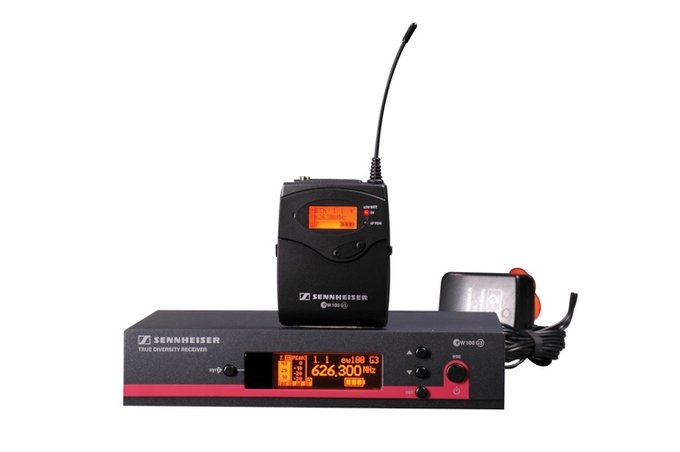 Sennheiser EW122G3-B - B Band, 626-668 MHz image 1