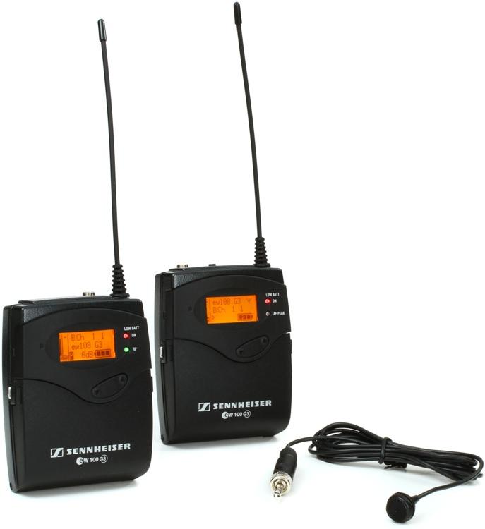 Sennheiser EW 122-p G3 - A Band, 516-558 MHz image 1