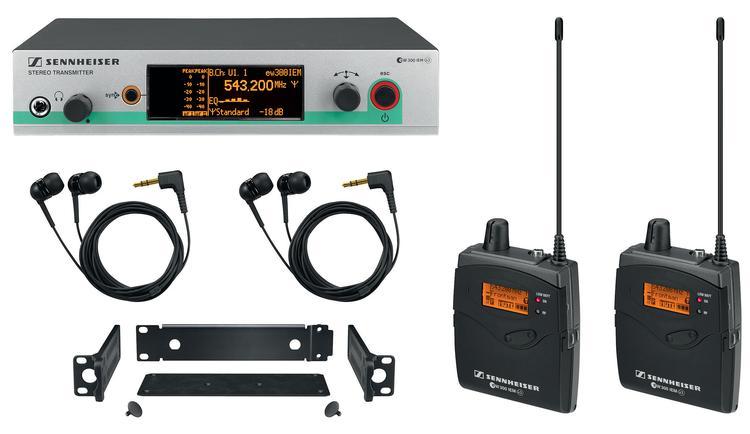 Sennheiser EW 300-2 IEM G3 - G Band, 566-608 MHz image 1