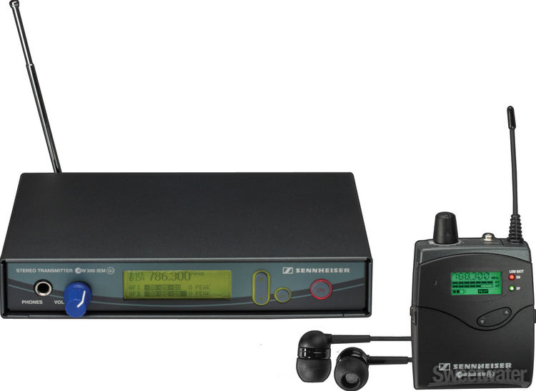 Sennheiser EW 300 IEM G2 - A Range (518 - 554 MHz) image 1