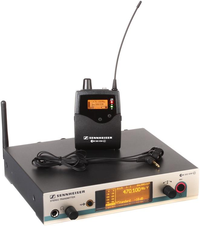 Sennheiser EW 300 IEM G3 - A-1 Band, 470-516MHz image 1