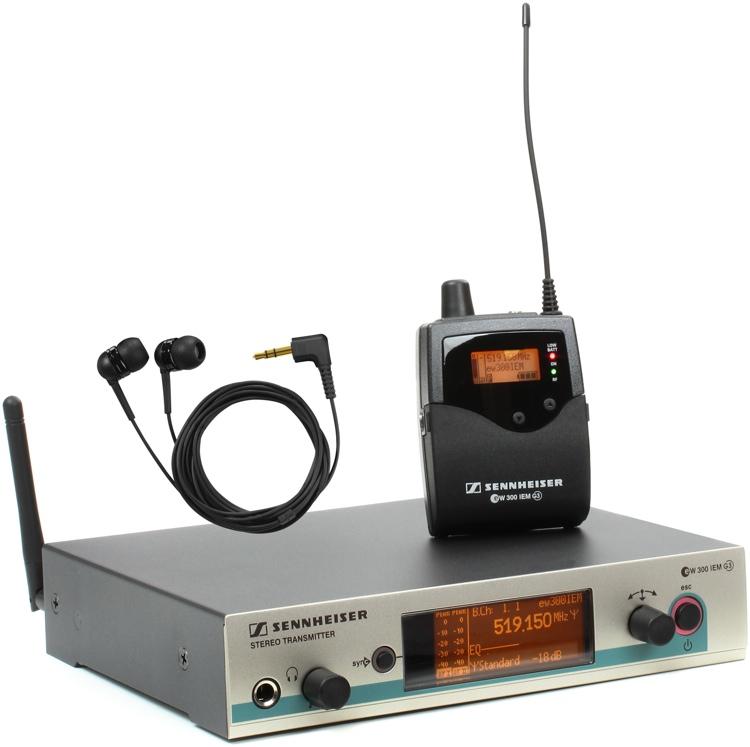 Sennheiser Ew 300 Iem : sennheiser ew 300 iem g3 g band 566 608 mhz sweetwater ~ Hamham.info Haus und Dekorationen