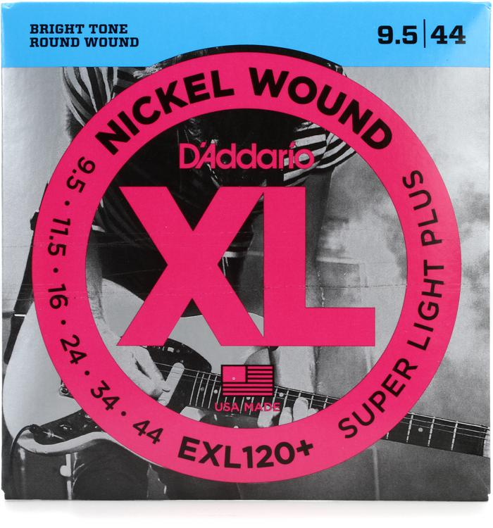 D\'Addario XL120+ Nickel Wound Super Light Plus Electric Strings image 1