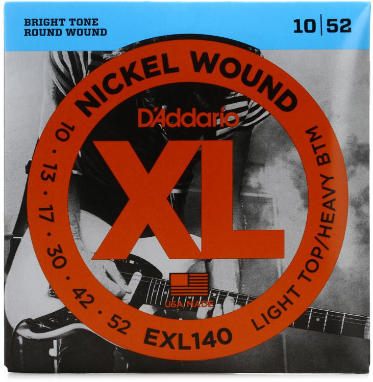D\'Addario XL140 Nickel Wound Light Top/Heavy Bottom Electric Strings image 1