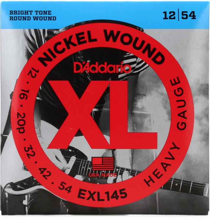 D\'Addario EXL145 Nickel Wound Heavy Electric Strings image 1