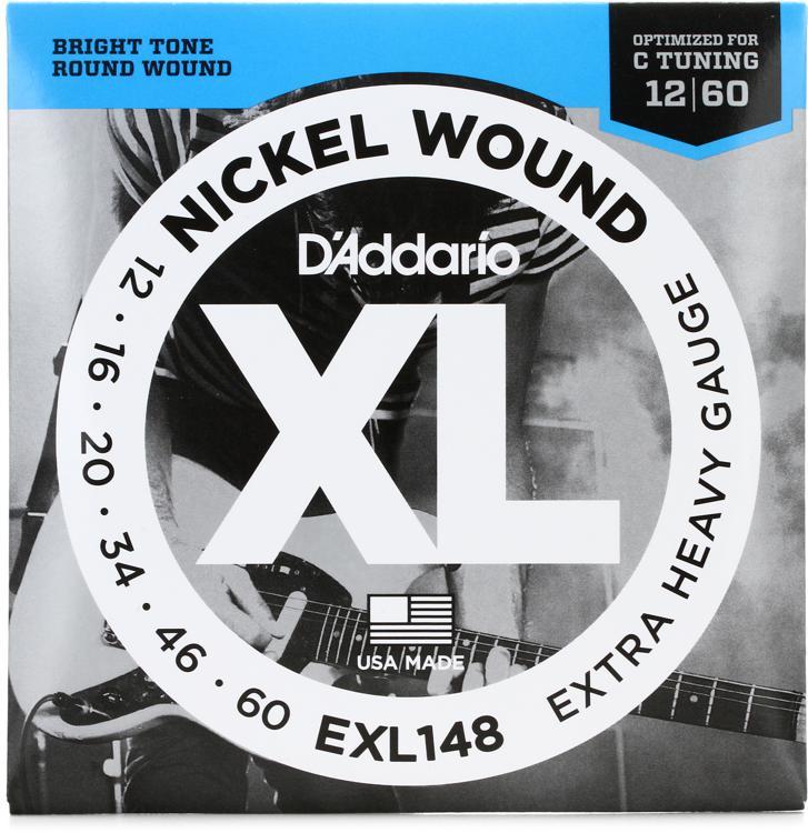 D\'Addario EXL148 Nickel Wound Extra Heavy Electric Strings image 1