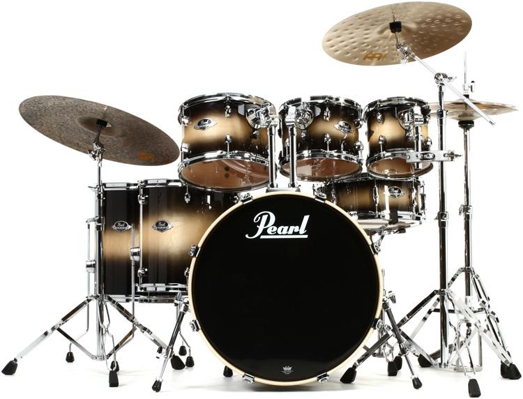 Pearl Export EXL 7 Piece Drum Set With Hardware