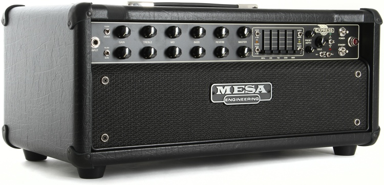 mesa boogie express 5 50 plus 50 watt tube head black sweetwater. Black Bedroom Furniture Sets. Home Design Ideas
