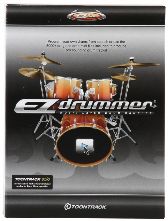 Toontrack EZdrummer - Boxed image 1