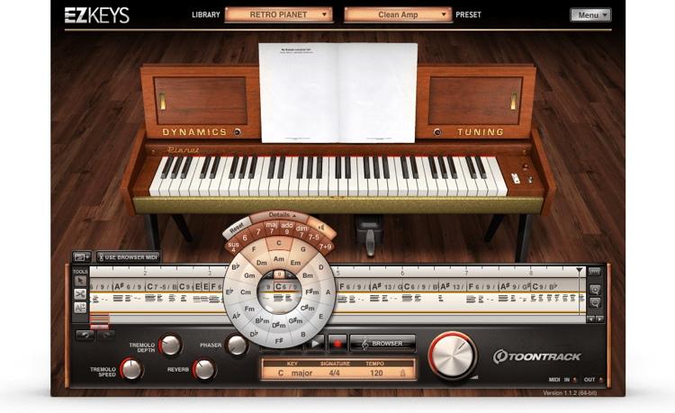 Toontrack EZkeys Retro Electrics Virtual Electric Pianos Collection image 1