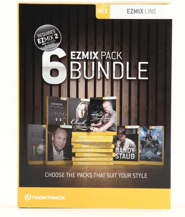 Toontrack EZmix 6 Pack Bundle image 1