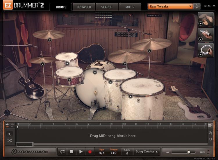 Toontrack Seventies Rock EZX (download) image 1