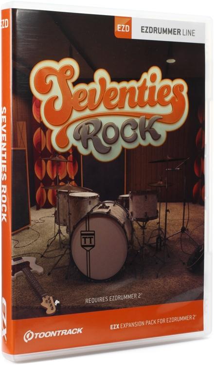 Toontrack Seventies Rock EZX (boxed) image 1