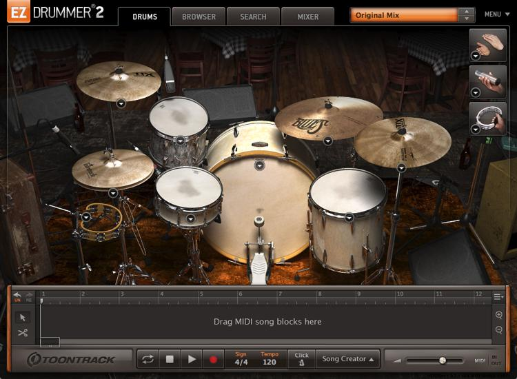 Toontrack The Blues EZX image 1
