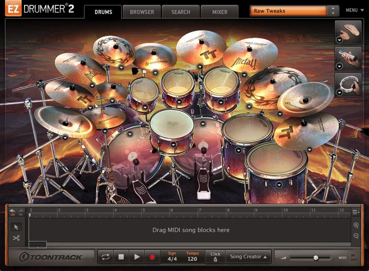 Toontrack Metal! EZX (download) image 1