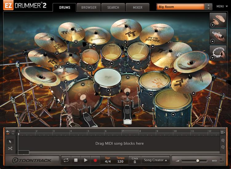Toontrack Metal Machine EZX (download) image 1