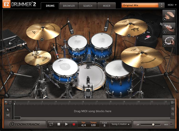 Toontrack Pop/Rock EZX image 1