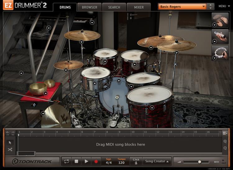Toontrack Post-Rock EZX (download) image 1