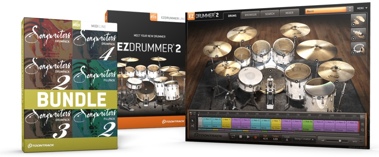 Toontrack EZdrummer 2 Songwriters Edition image 1