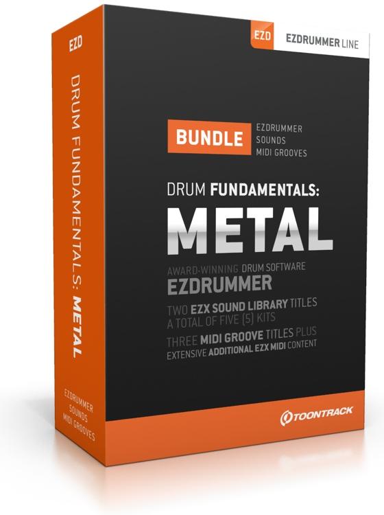 Toontrack Drum Fundamentals Metal Bundle image 1