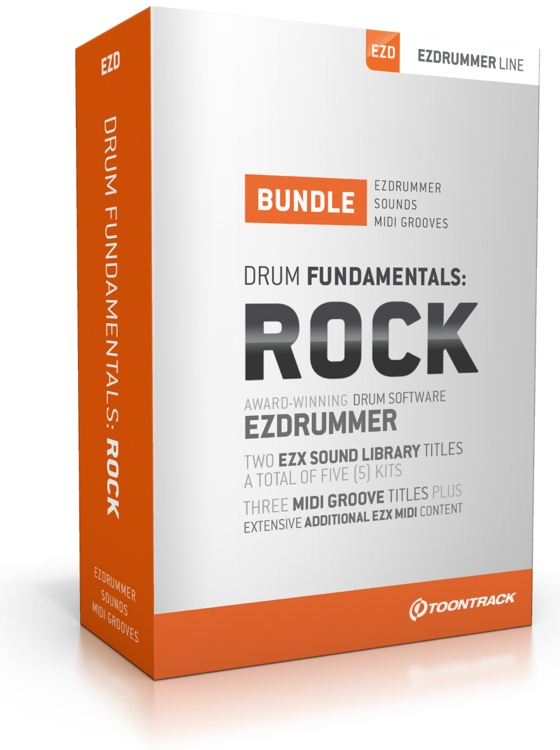 Toontrack Drum Fundamentals Rock Bundle image 1