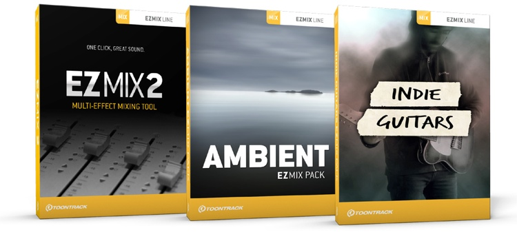 Toontrack Ambient and Indie Guitar EZmix 2 Value Pack image 1
