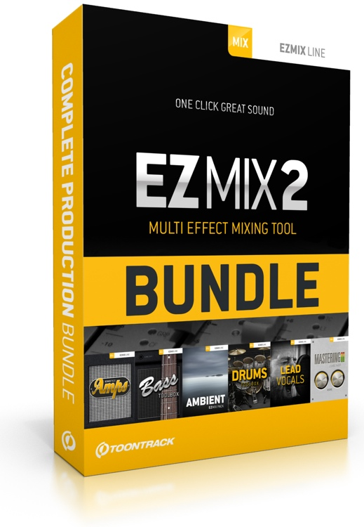 Toontrack EZmix 2 Complete Production Plug-in Bundle image 1