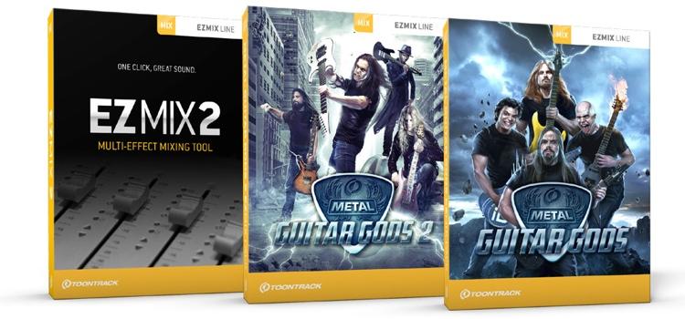 Toontrack Metal Guitar EZmix 2 Value Pack image 1