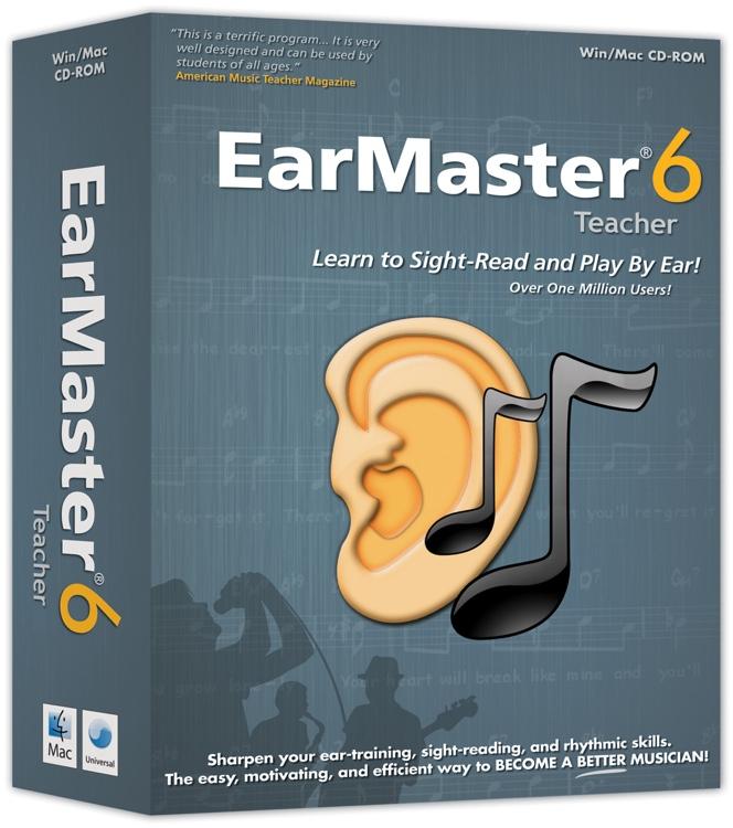 eMedia EarMaster 6 Teacher image 1